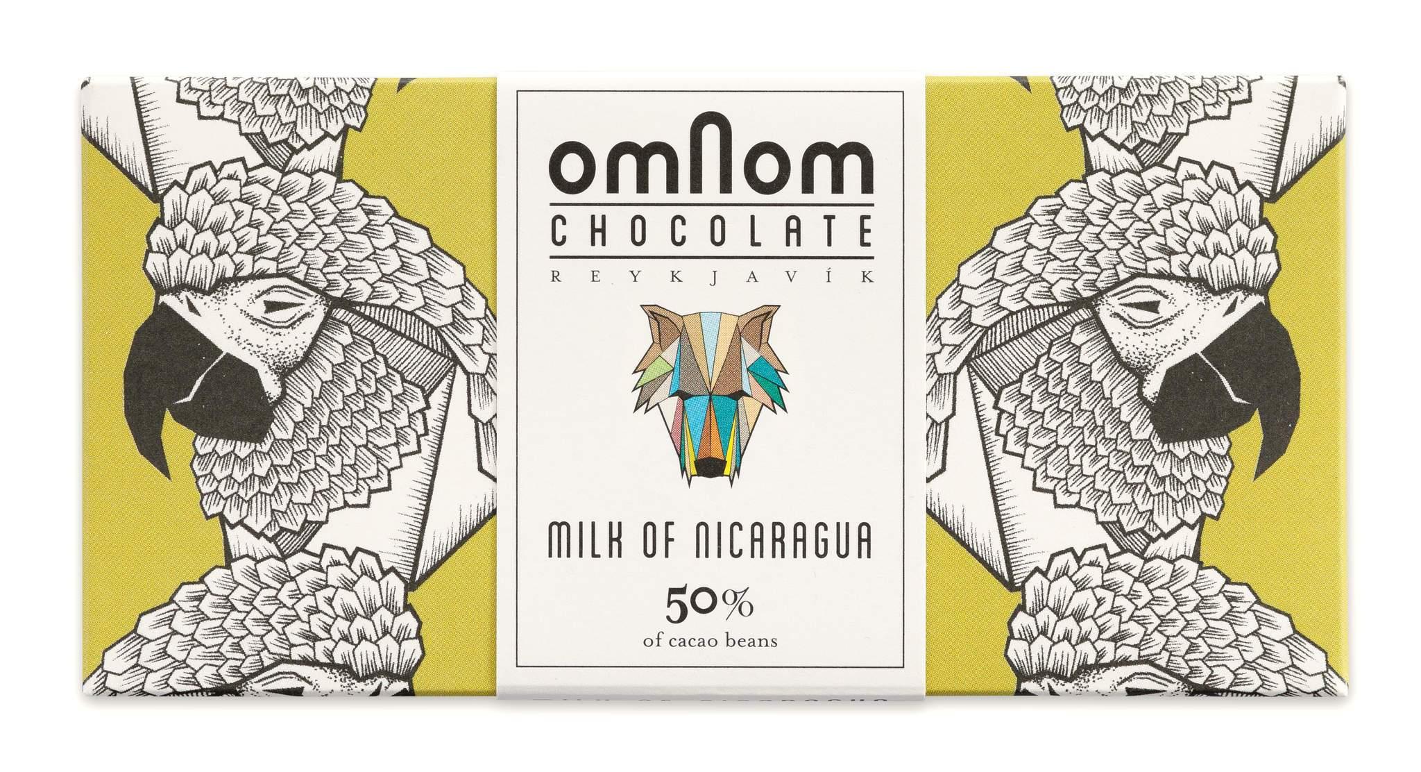OMNOM Chocolate | Milchschokolade »Milk of Nicaragua« 50%