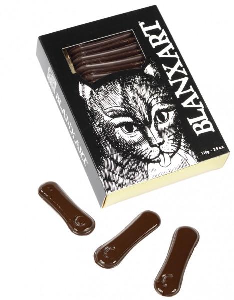 BLANXART   Dunkle Schokolade »Katzenzungen« 60%