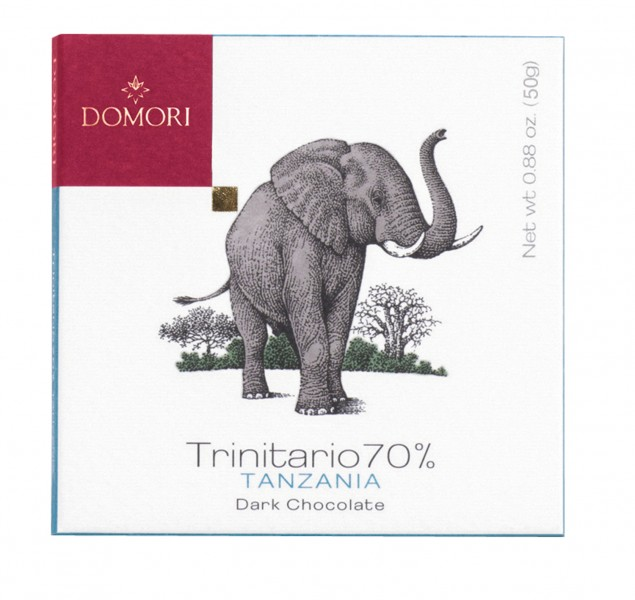 DOMORI | Dunkle Schokolade Trinitario »Tanzania« Morogoro 70% - 50g