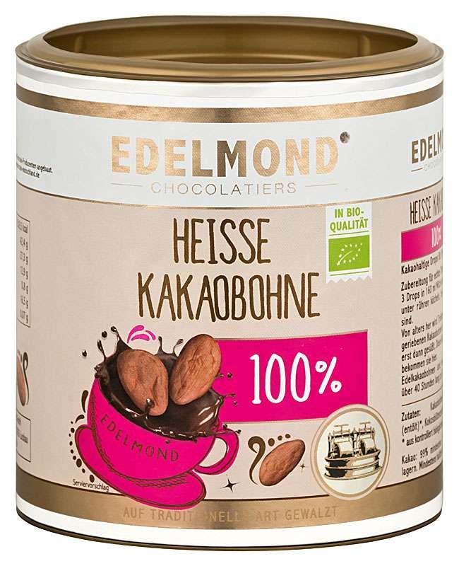 EDELMOND  »Heisse Kakaobohne« Trinkschokolade 100%   BIO