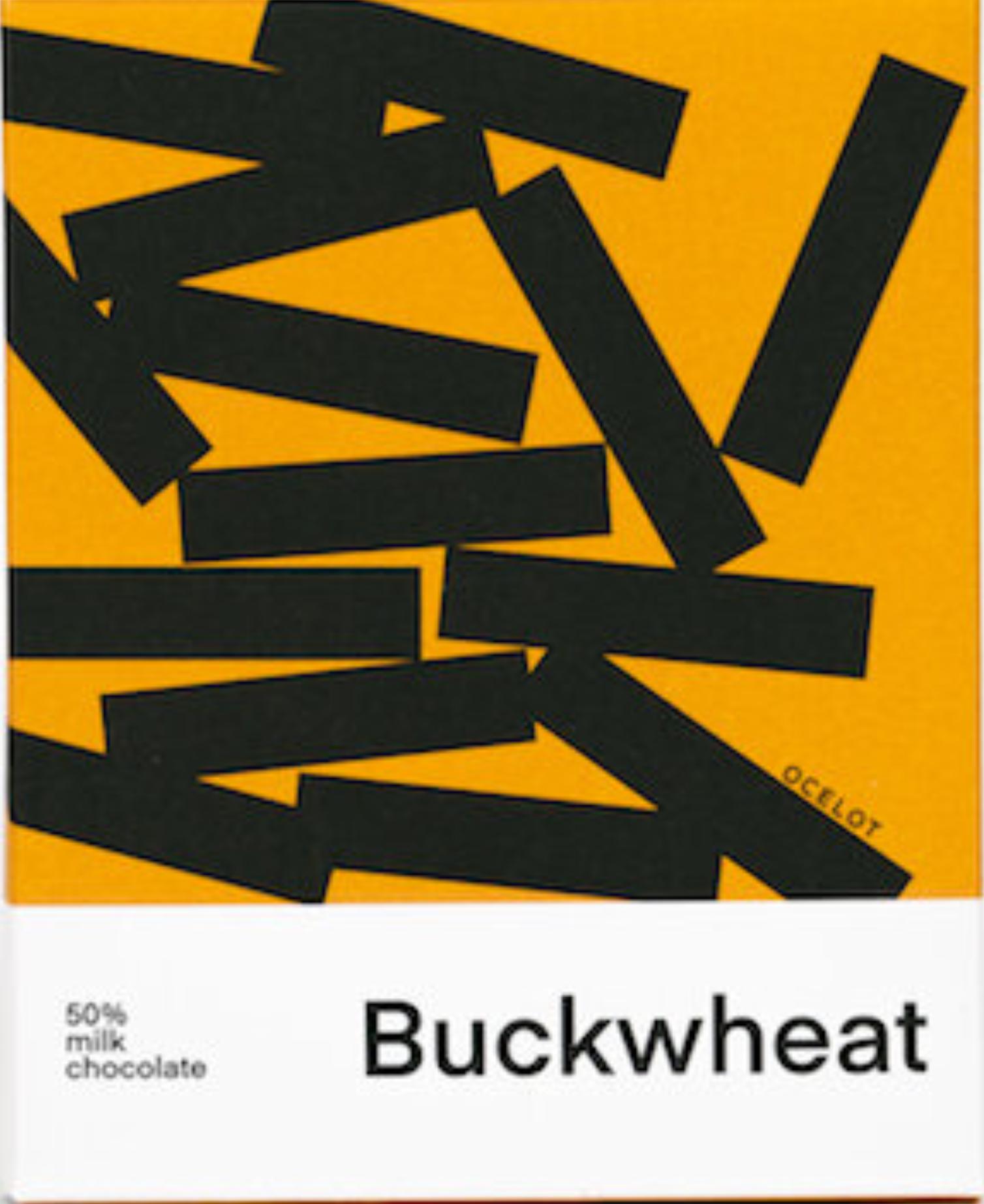 OCELOT   Milchschokolade & Buchweizen »Buckwheat« 50%   BIO   MHD 08.12.2021