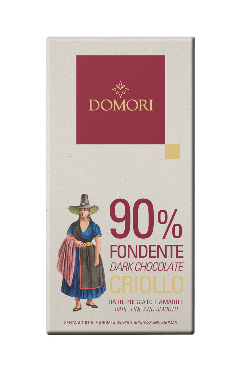 DOMORI   Schokolade »Criollo FONDENTE« 90% - 50g