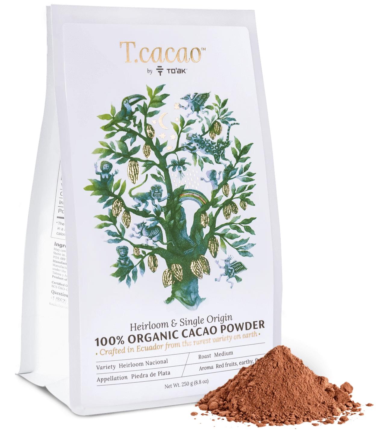 TO'AK | Kakaopulver »Heirloom & Single Origin Ecuador« 100%
