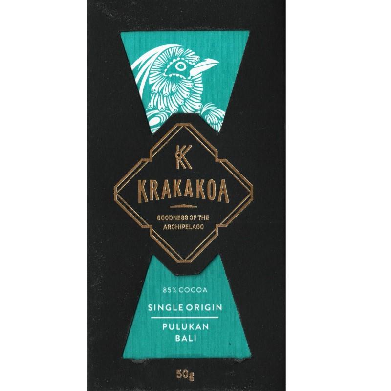 KRAKAKOA   Dunkle Schokolade »Pulukan Bali« 85%