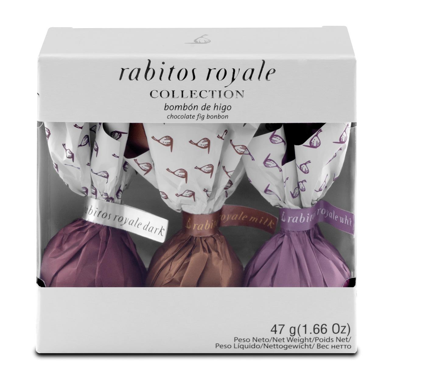 LA HIGOERA | Feigenpralinen 3er-Collection  »Rabitos Royale«