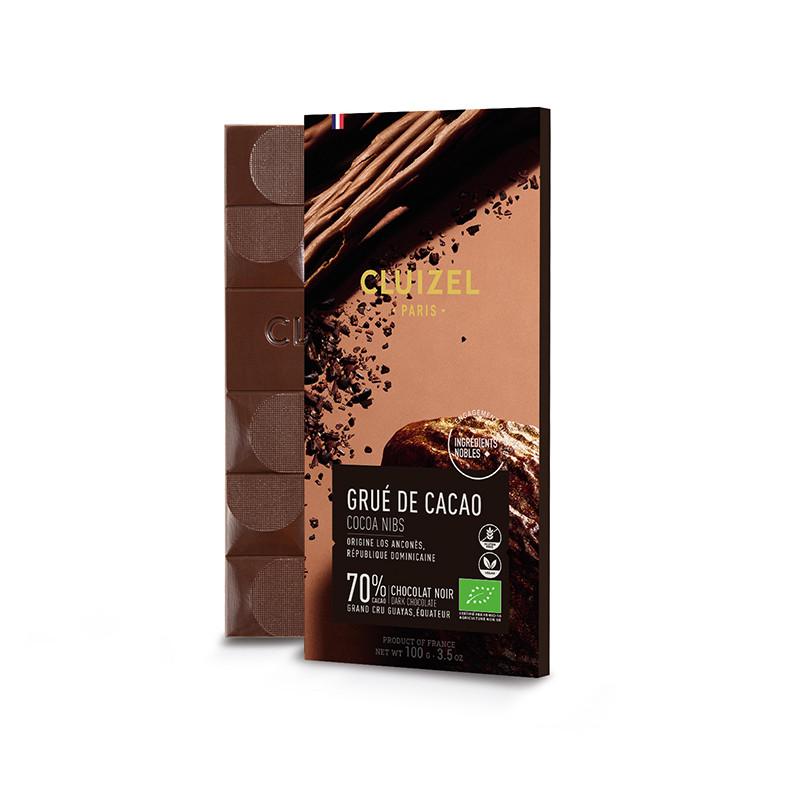 MICHEL CLUIZEL | Schokolade & Nibs »Grué de Cacao« 70% | BIO