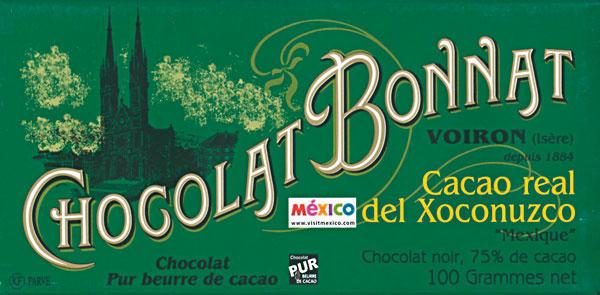 BONNAT Dunkle Schokolade | Chocolat Cacao »Real del Xoconuzco« 75%