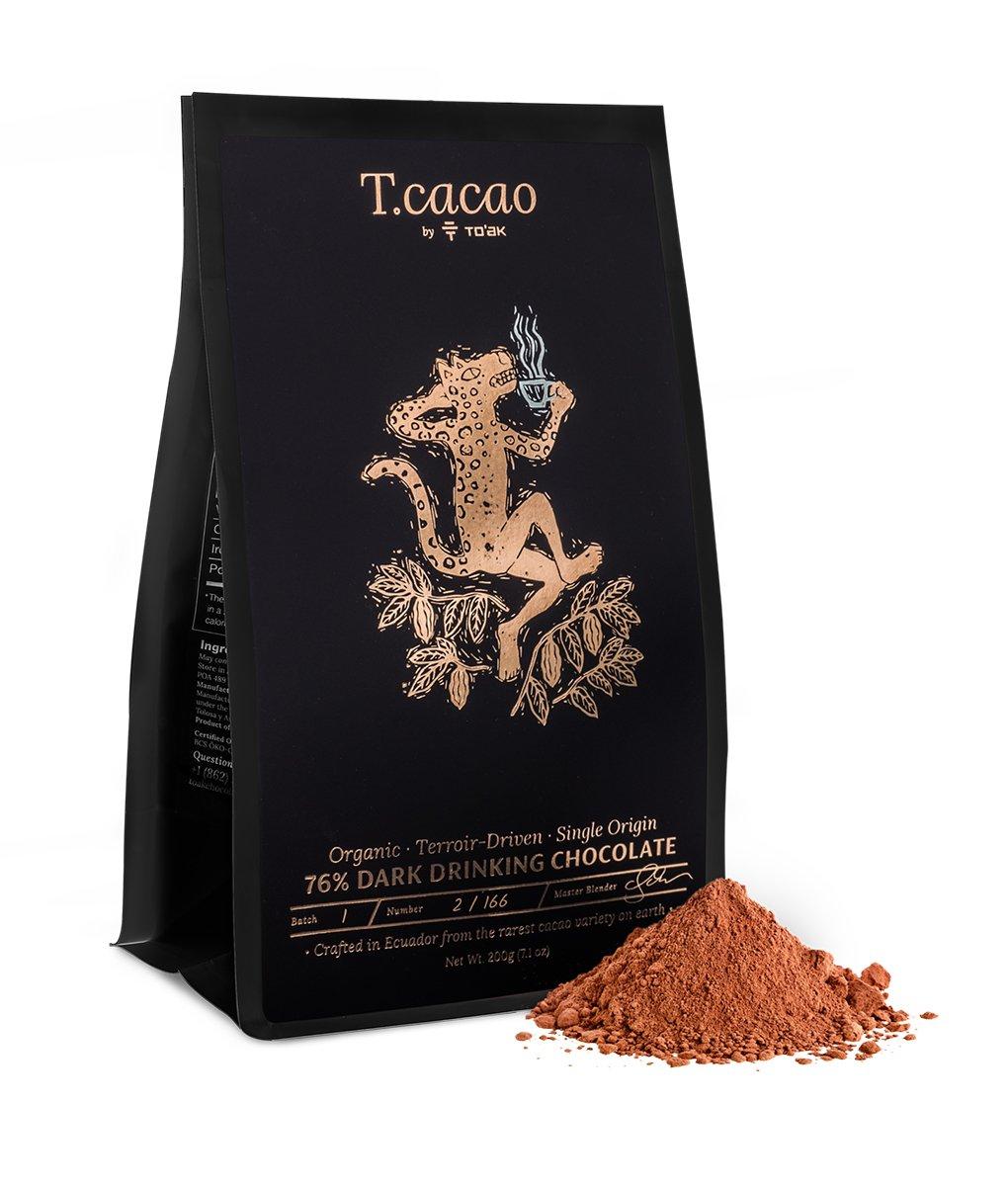 TO'AK | Trinkschokolade »Ecuador Dark Drinking Chocolate« 76%