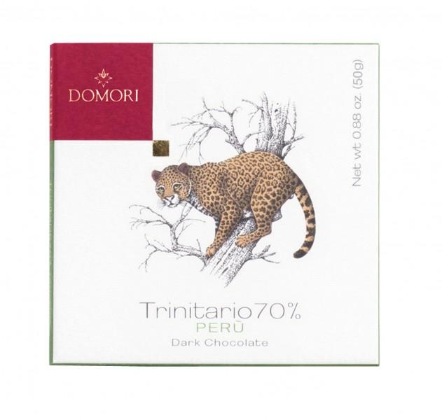 DOMORI | Dunkle Schokolade Trinitario »Peru Apurimac« 70% - 50g