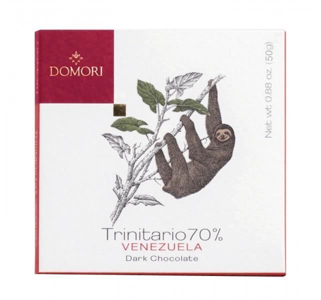 DOMORI | Dunkle Schokolade Trinitario »Venezuela« 70% - 50g