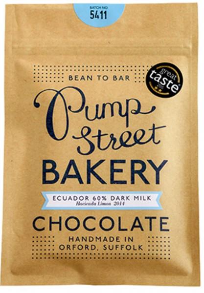PUMP STREET BAKERY   Milchschokolade »Ecuador Dark Milk« 60%