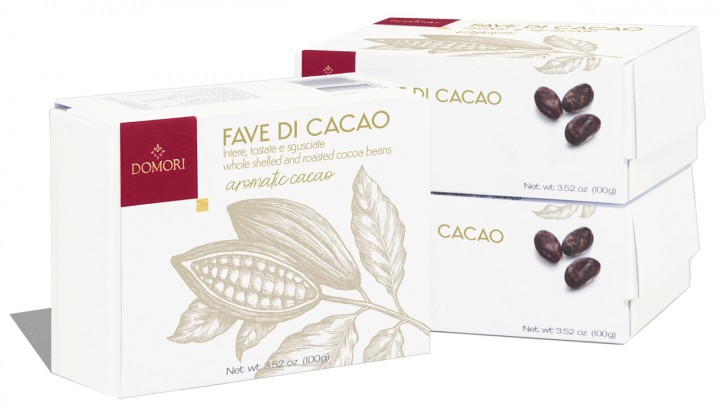 DOMORI | Fave di Cacao »Kakaobohnen« geschält & geröstert MHD 30.11.2021
