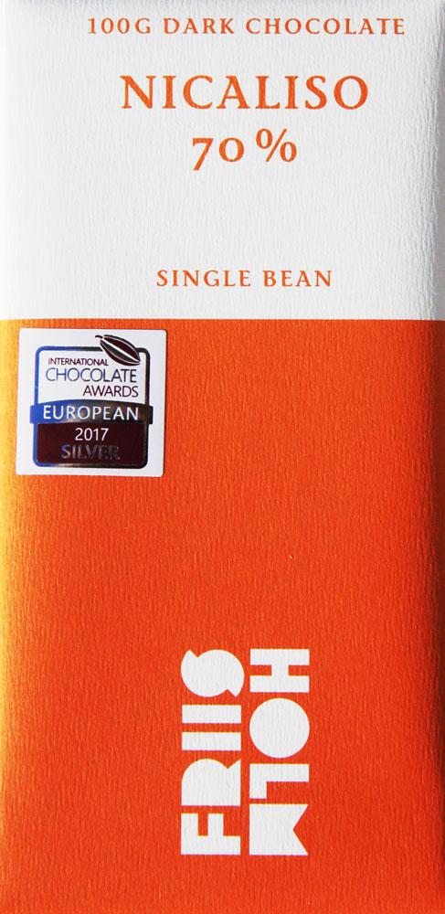 FRIIS-HOLM | Schokolade »Nicaliso« Nicaragua 70%