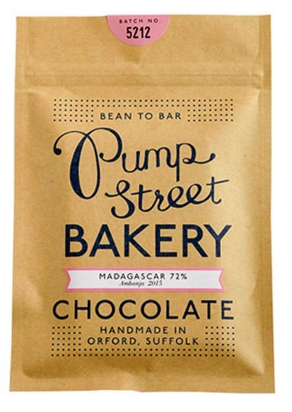 PUMP STREET BAKERY   Dunkle Schokolade »Madagascar«72%