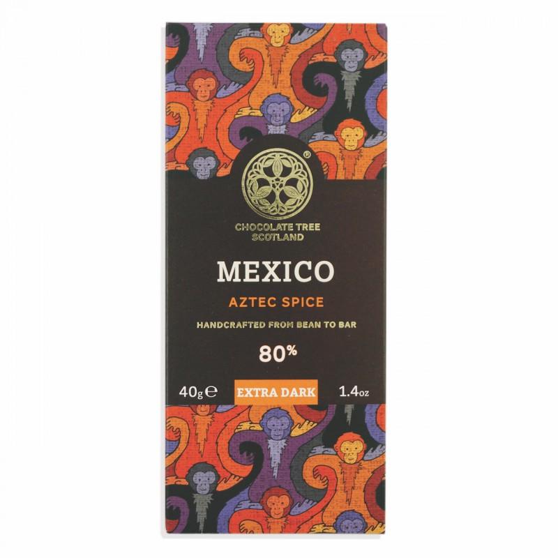CHOCOLATE TREE | Dunkle Schokolade »Mexico Aztec Spice« 80% - 40g