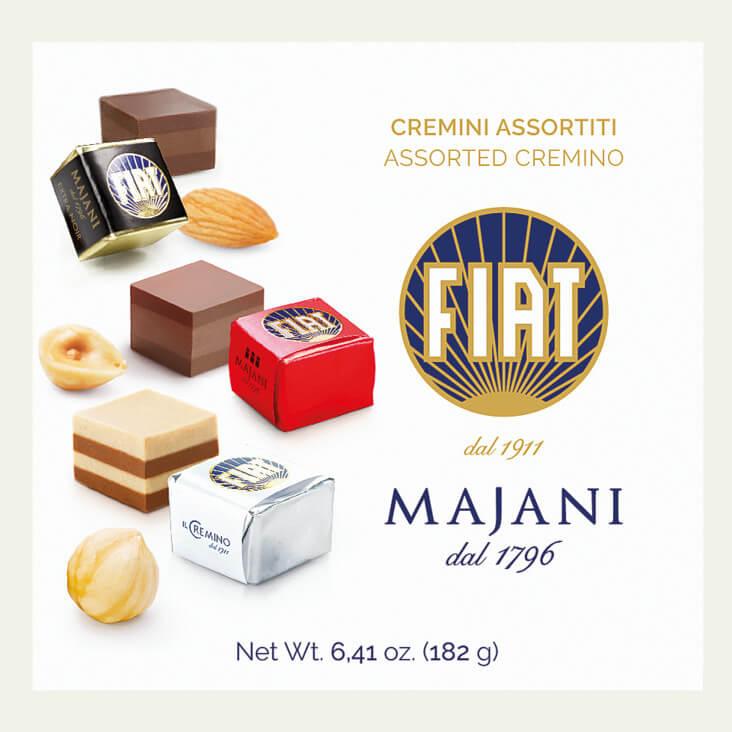 MAJANI Cremino Mix-Packung mit 18 Stück »FIAT-Cremini-Mix«