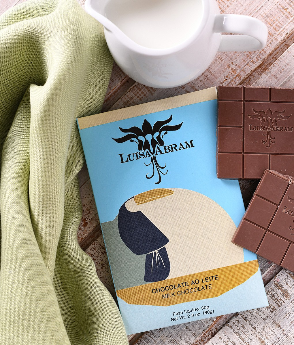LUISA ABRAM Chocolate | Milchschokolade Brazil »Chocolate ao Leite« 42%