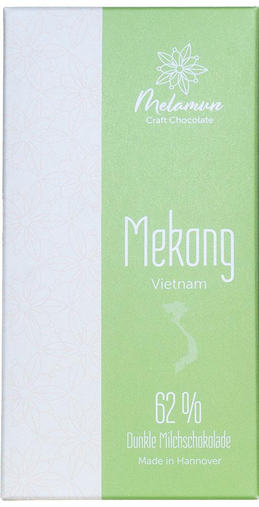 MELAMUN   Milchschokolade »Mekong  - Vietnam« 62%