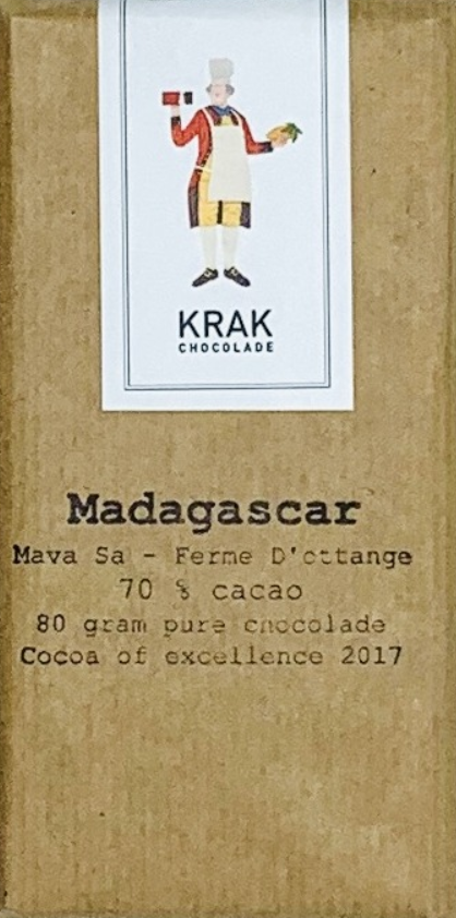 KRAK Chocolade   Schokolade »Madagascar Mava Sa Ferme D'ottange« 70%