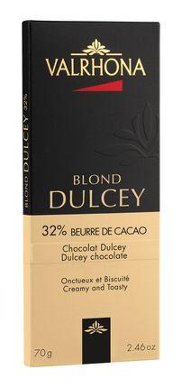 VALRHONA | Weisse Schokolade Blond  »Dulcey« 32%