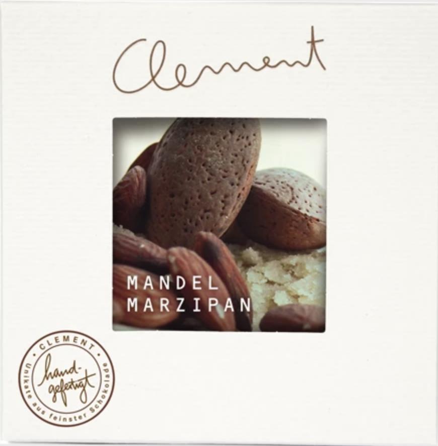 CLEMENT  | Zartbitterschokolade mit »Mandel-Marzipan« 60%