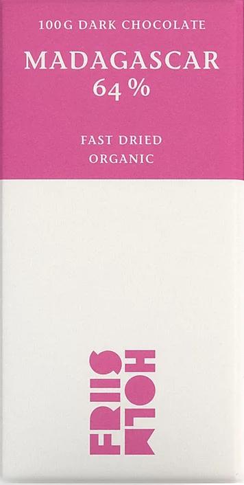 FRIIS-HOLM | Schokolade »Fast Dried« Madagascar 64% | BIO