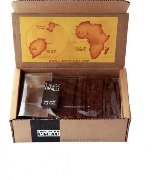 CLAUDIO CORALLO | Napolitains »PURO« 100% Kakao 160g