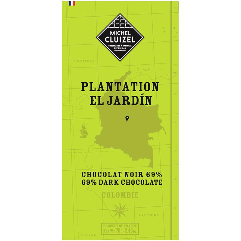 MICHEL CLUIZEL |  Schokolade »Plantation El Jardin« 69%