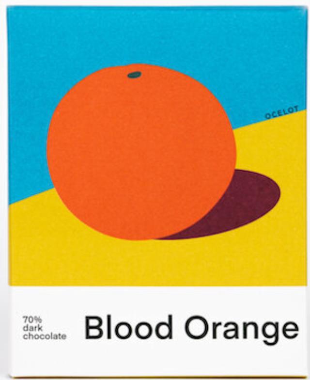 OCELOT   Dunkle Schokolade & Orange »Blood Orange« 70%   BIO   MHD 07.12.2021