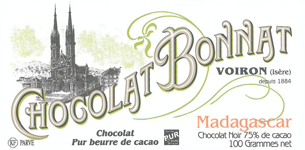 BONNAT Dunkle Schokolade | Chocolat »Madagascar« 75%