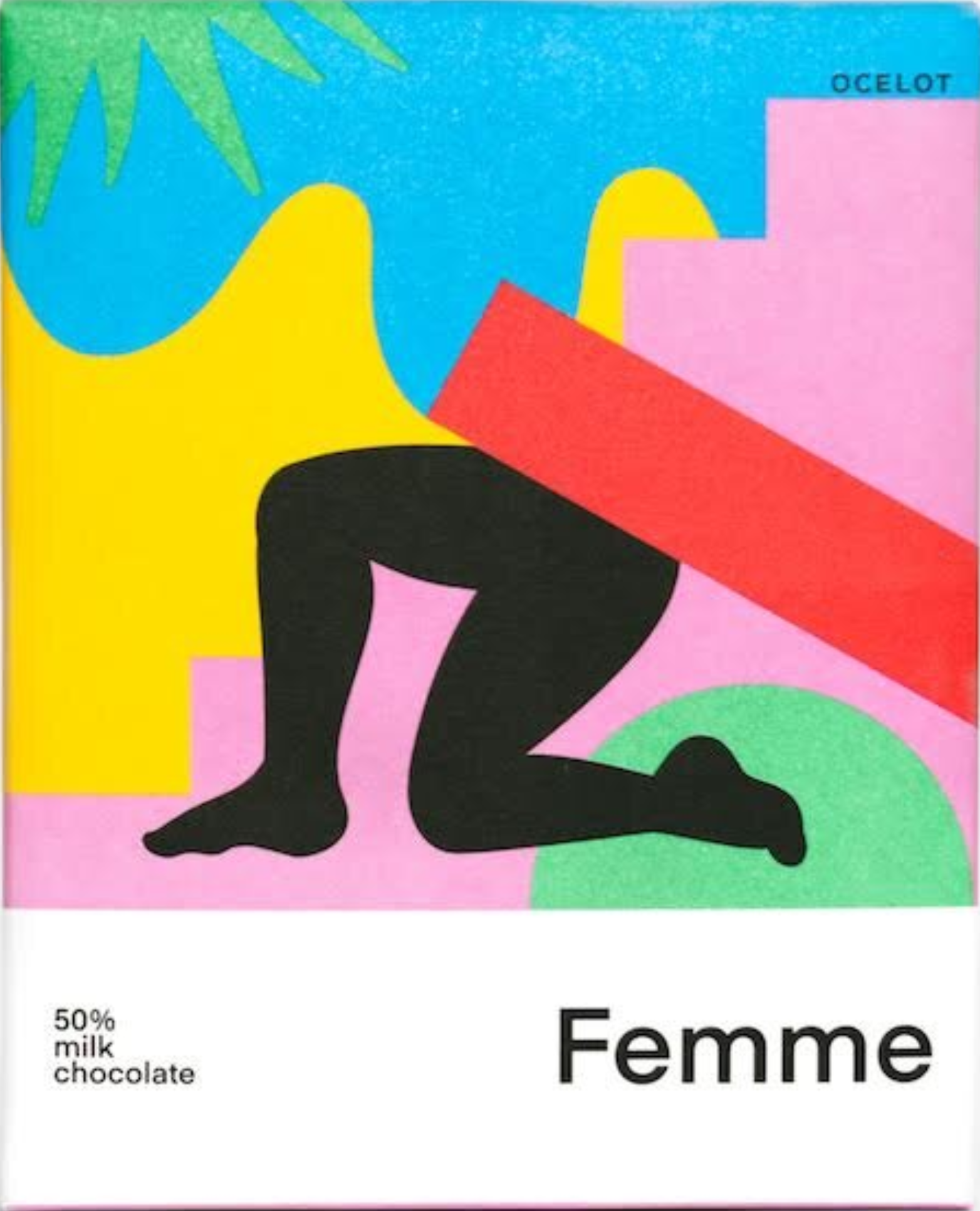 OCELOT   Milchschokolade »Femme Dark Milk« 50%   BIO