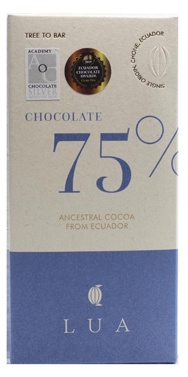 LUA Chocolate | Schokolade »Ecuador« 75% - 50g