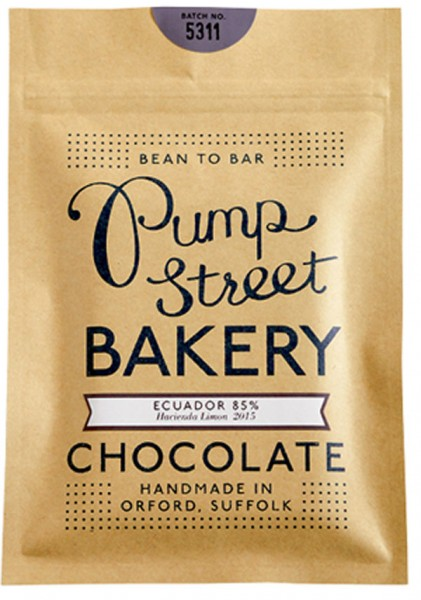 PUMP STREET BAKERY   Schokolade »Ecuador« 85%