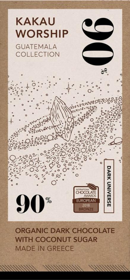 KAKAU WORSHIP | Schokolade »Guatemala« 90% | BIO