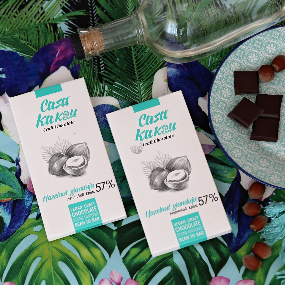 CASA KAKAU | Schokolade & Nougat »Hazelnut Gianduja« 57%