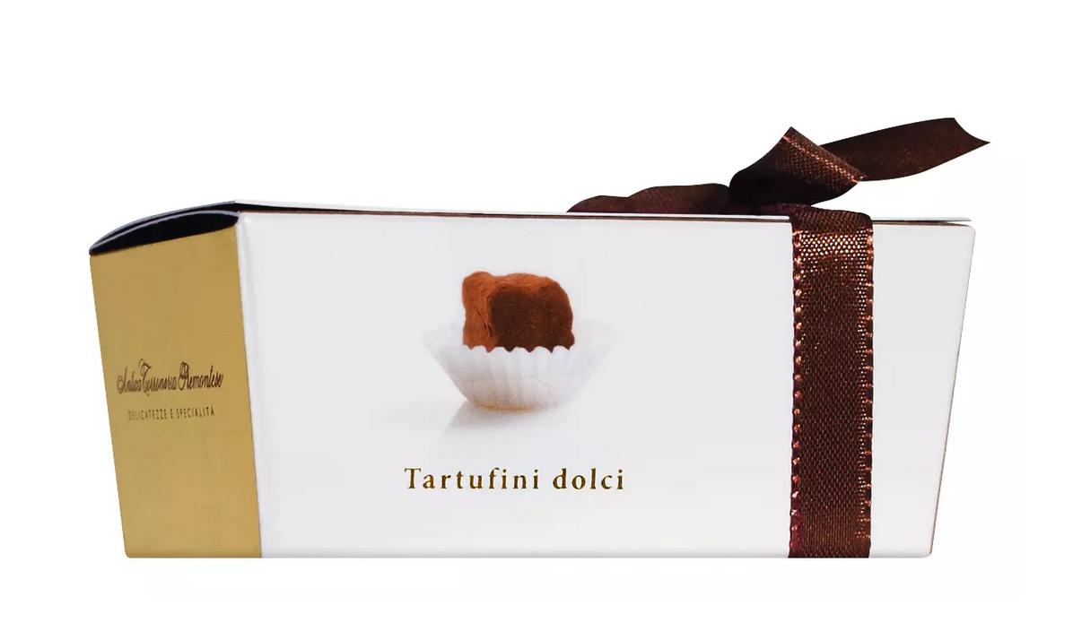 ANTICA TORRONERIA PIEMONTESE   Schokoladentrüffel »Tartufini« Pralinenschachtel 50g