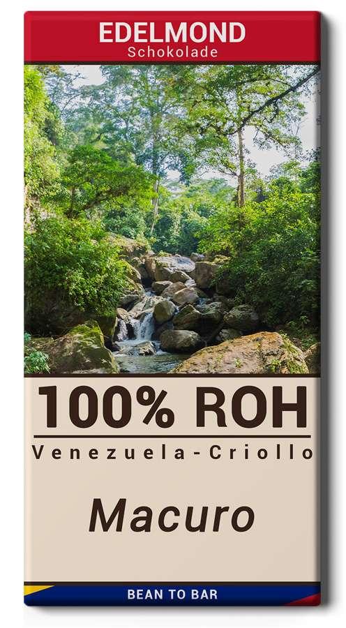 EDELMOND | Rohschokolade Venezuela »Criollo Macuro« 100% MHD 28.11.2021
