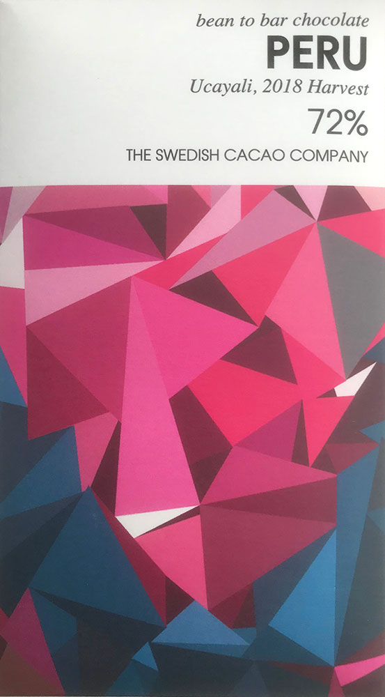 THE SWEDISH CACAO COMPANY | Dunkle Schokolade »Peru« 72% MHD 17.11.2021