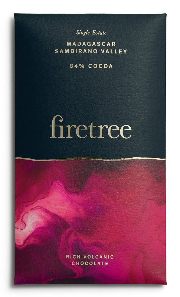 FIRETREE Chocolate | Dunkle Schokolade »Madagascar Sambirano Valley« 84%