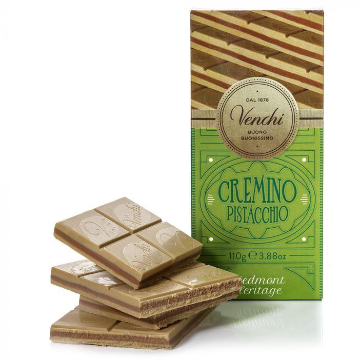 VENCHI | Schokolade & Pistaziennougat »Cremino Pistacchio« 110g
