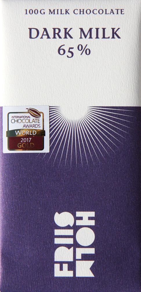 FRIIS-HOLM | Milchschokolade »Dark Milk« 65%