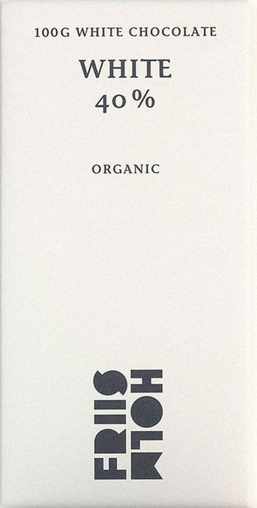FRIIS-HOLM | Weiße Schokolade »White« 40%