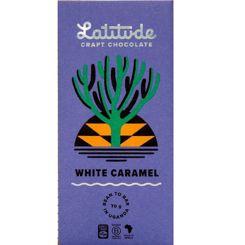 LATITUDE | Weiße Schokolade »White Caramel« 40%