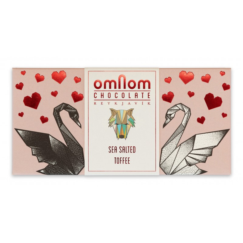 OMNOM Chocolate | Schokolade »Sea Salted Toffee«