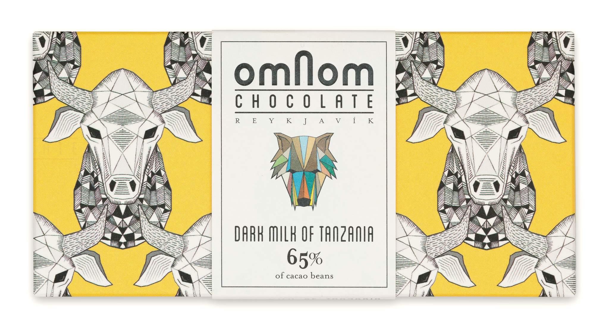 OMNOM Chocolate   Schokolade »Dark Milk of Tanzania« 65%