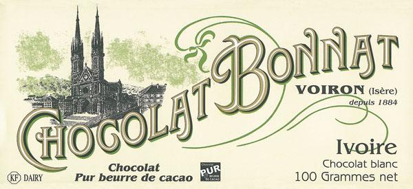 BONNAT Weiße Schokolade | Chocolat »Ivoire« blanc