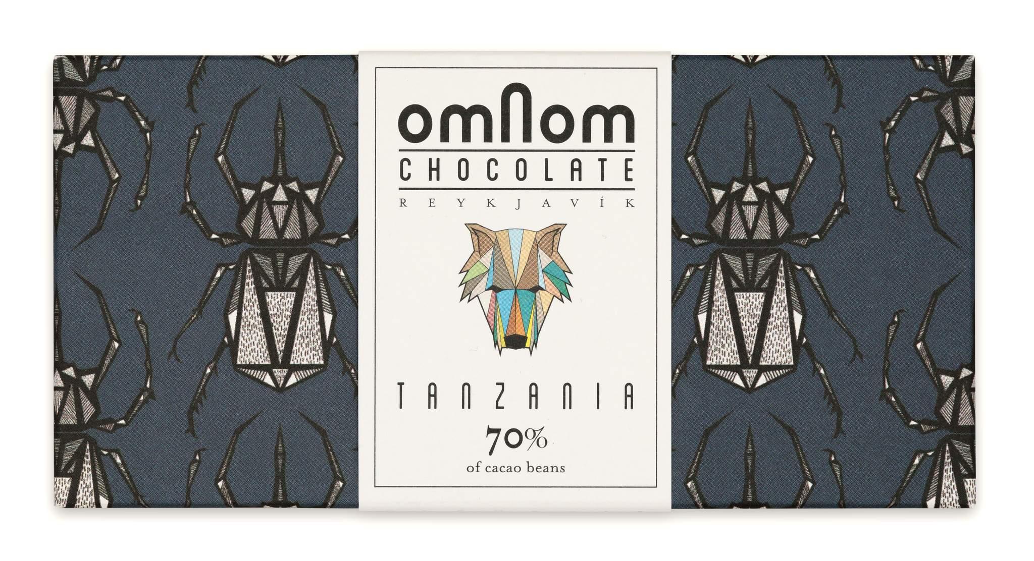 OMNOM Chocolate   Dunkle Schokolade »Tanzania« 70%