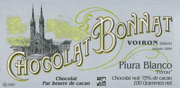 BONNAT Dunkle Schokolade | Chocolat »Piura Blanco 75%