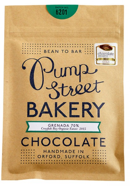PUMP STREET BAKERY    Dunkle Schokolade »Grenada« 70 %