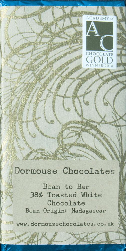 DORMOUSE Chocolates | Weiße Schokolade »Toasted White« 38%